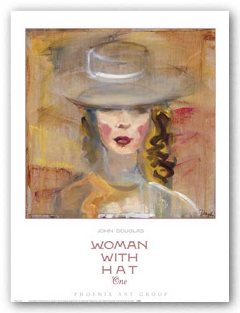 Woman with Hat One by John Douglas