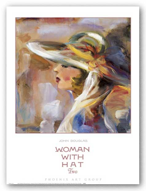 Woman with Hat Two by John Douglas