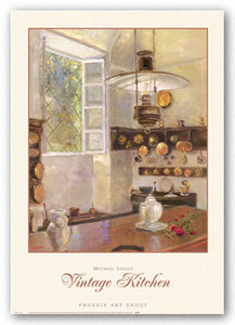Vintage Kitchen by Michael Longo