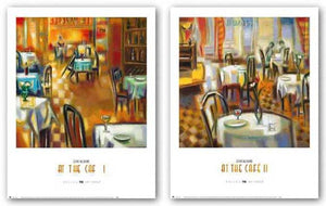 At The Cafe Set by Elya DeChino