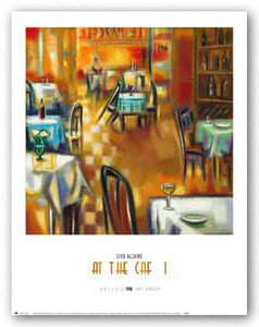 At The Cafe I by Elya DeChino