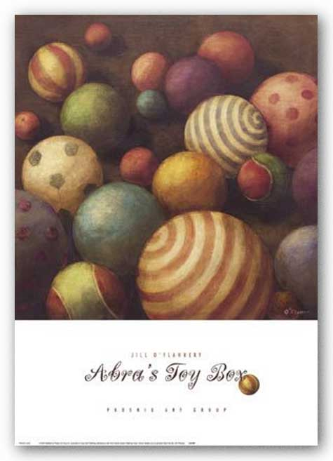Abra's Toy Box by Jill O'Flannery