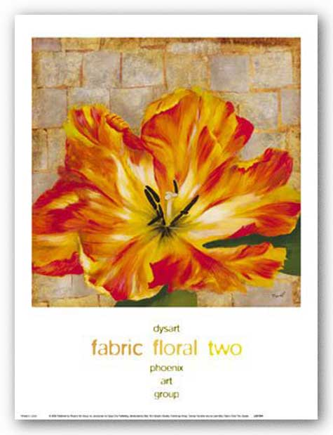 Fabric Floral Two by Dysart
