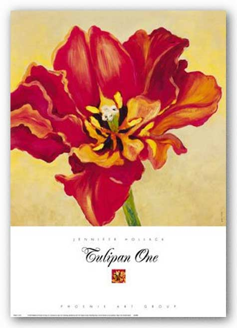 Tulipan One by Jennifer Hollack