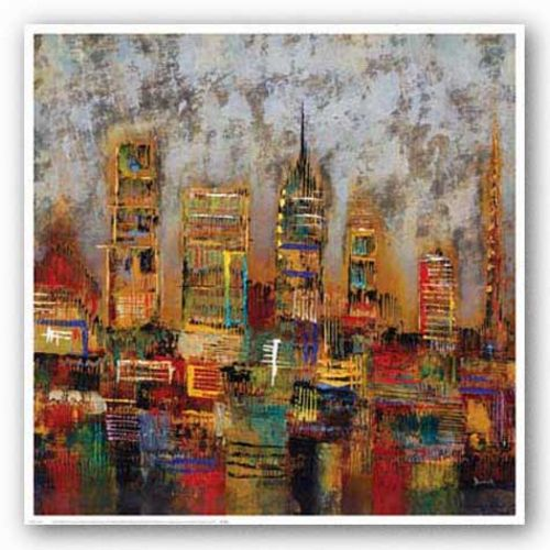 City Lights I by Dominick