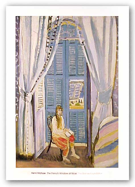 The French Window At Nice, 1919 by Henri Matisse