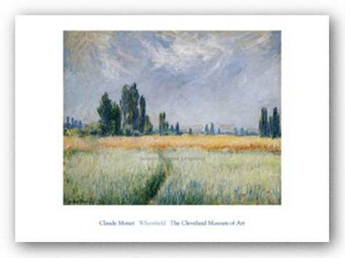 Wheatfield, 1881 by Claude Monet