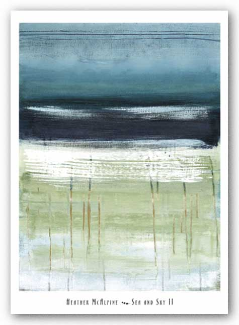 Sea and Sky II by Heather McAlpine