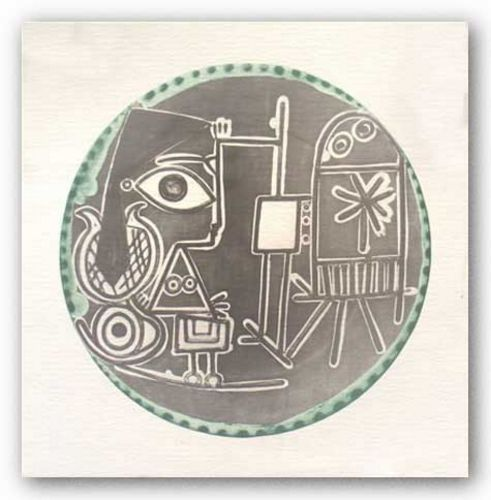 Plates (no text) by Pablo Picasso