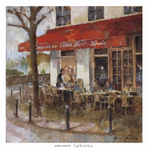 Cafe Saint Louis by Noemi Martin