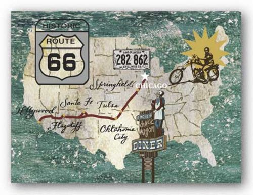 Rettro Roadtrip II - Route 66 by James Nocito