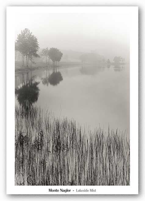 Lakeside Mist by Monte Nagler