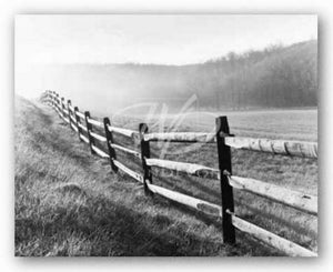 Vanishing Fence by Monte Nagler