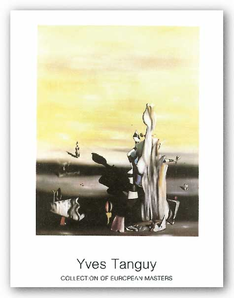 Dame a L'Absence by Yves Tanguy