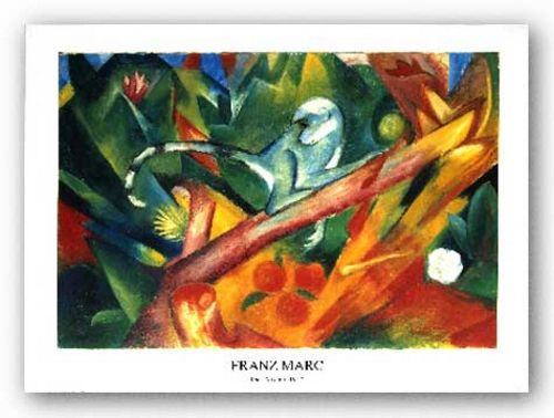 The Monkey by Franz Marc
