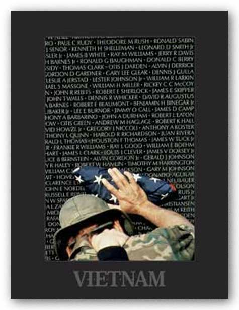 Vietnam Memory Wall by Peter Marlow