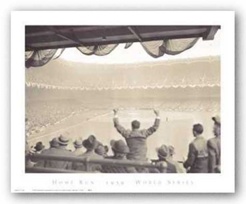 Home Run - 1939 - World Series by Corbis-Bettmann