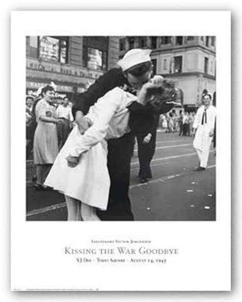 Kissing the War Goodbye by Lt. Victor Jorgensen