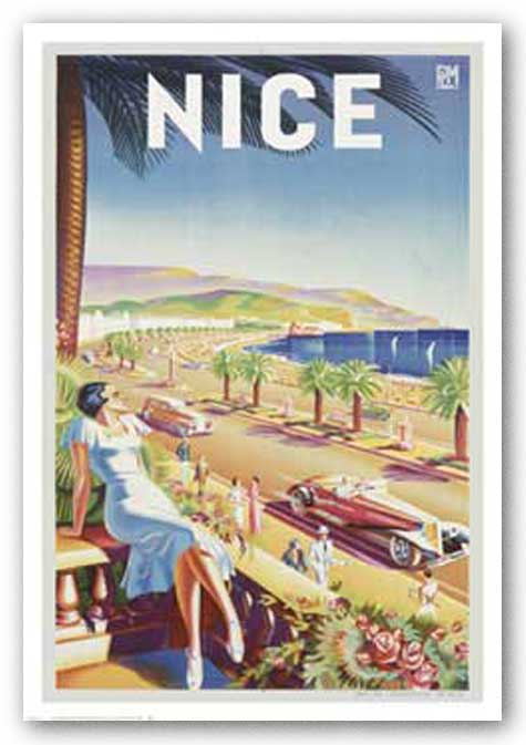Nice by Reproduction Vintage Poster