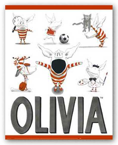 Olivia - Busy Little Piggy by Ian Falconer