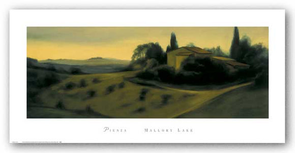 Pienza by Mallory Lake
