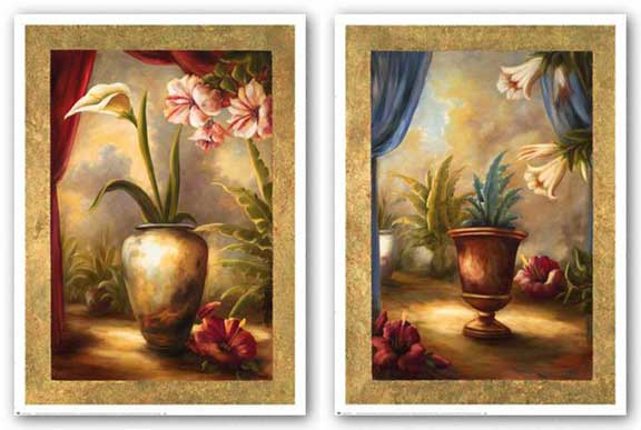 Traditional Urn Set by Alexa Kelemen