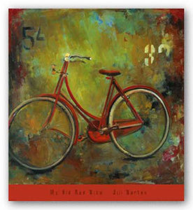My Old Red Bike by Jill Barton