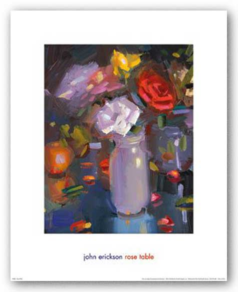 Rose Table by John Erickson
