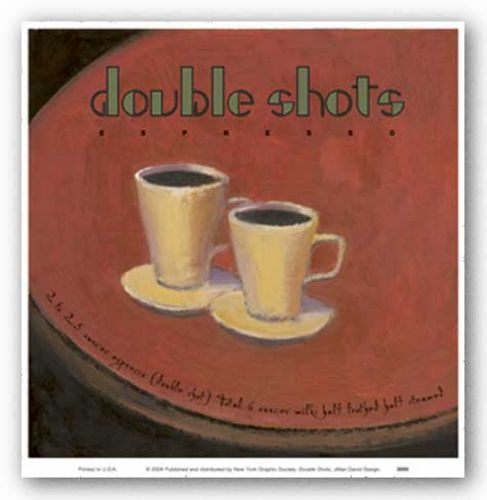 Double Shots by Jillian David Design