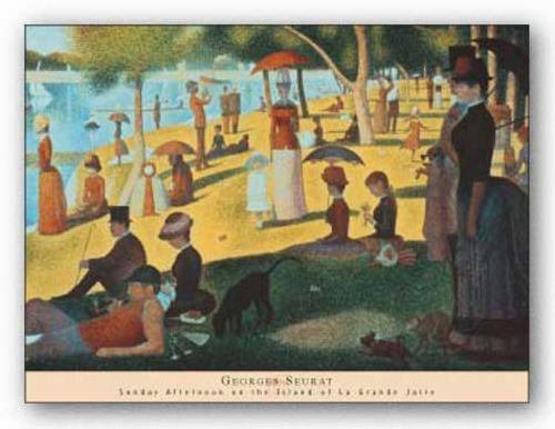 Sunday Afternoon on the Island of La Grande Jatte by Georges Seurat
