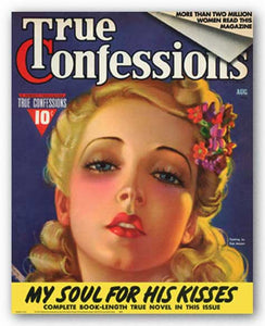 My Soul for His Kisses, August 1929 by True Confessions