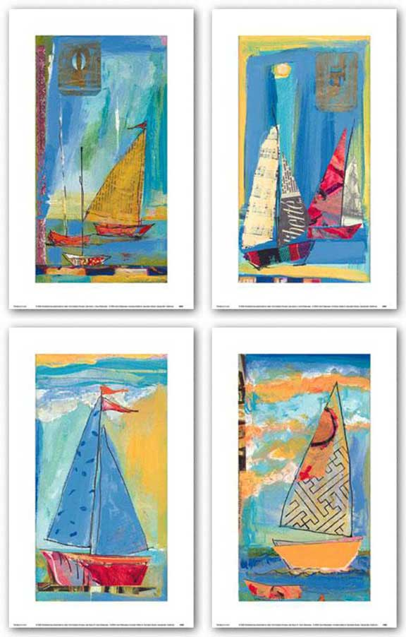 Sail Away Set by Carol Watanabe
