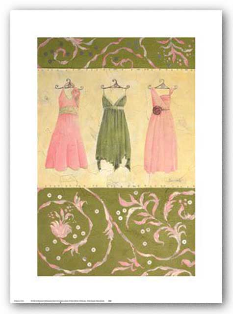 Three Dresses by Maria Woods