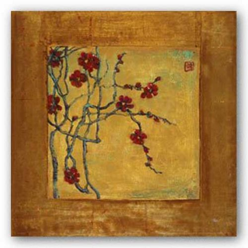 Chinese Blossoms I by Jill Barton
