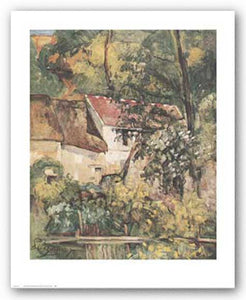 House of Pere Lacroix by Paul Cezanne