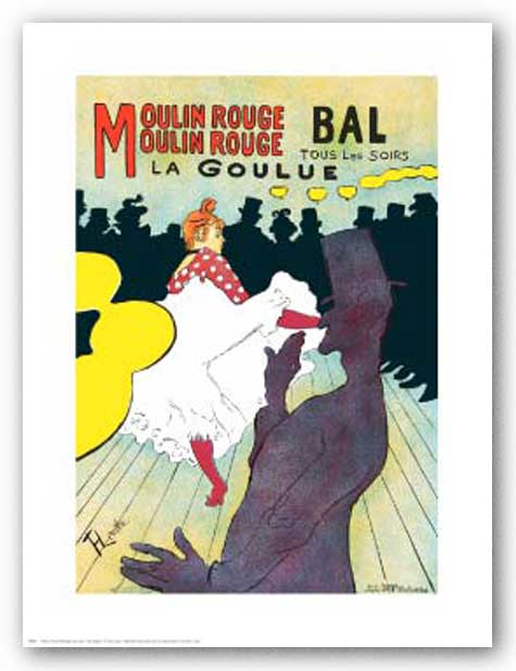 Moulin Rouge by Henri de Toulouse-Lautrec
