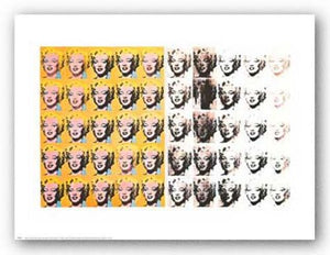 Marilyn Monroe (50 Images) by Andy Warhol