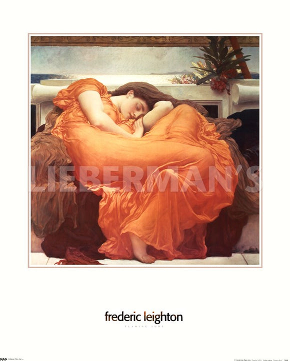 Flaming June by Frederic Lord Leighton