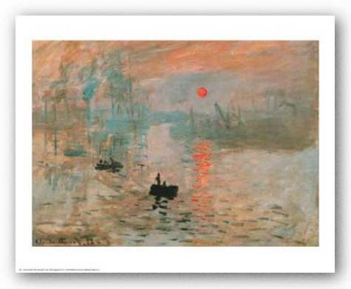 Impression, Sunrise (green) by Claude Monet