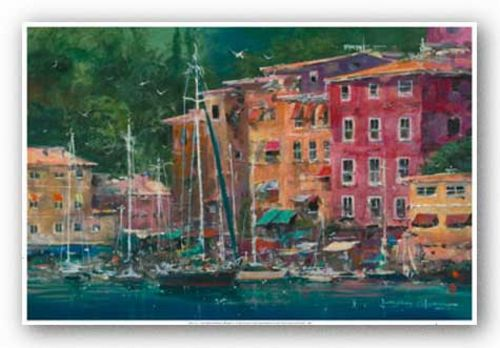 Portofino Afternoon by James Coleman