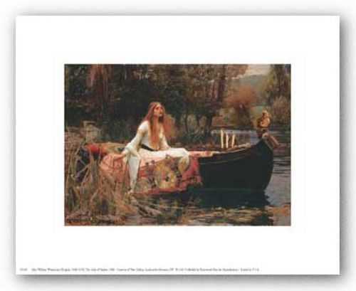 The Lady of Shalott by John William Waterhouse