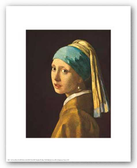 Head of a Girl by Jan Vermeer