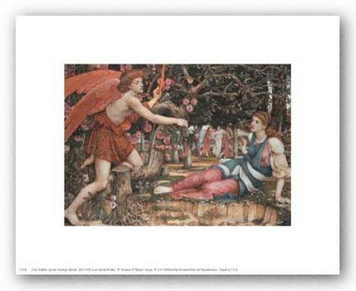 Love and the Maiden by John Roddam Spencer Stanhope