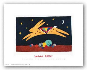 Leaping Rabbit by Sharon Pierce McCullough