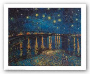 Starlight Over the Rhone by Vincent Van Gogh