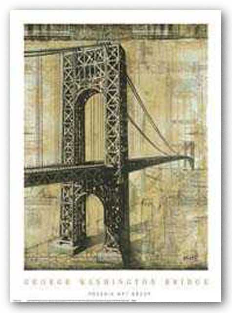 George Washington Bridge by P. Moss