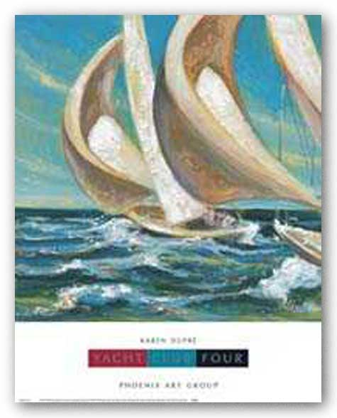 Yacht Club Four by Karen Dupre