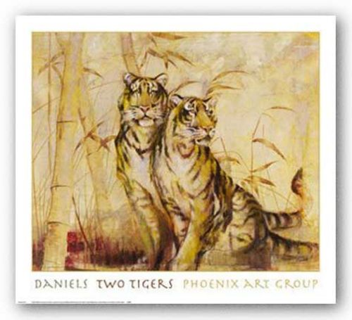 Two Tigers by Norm Daniels