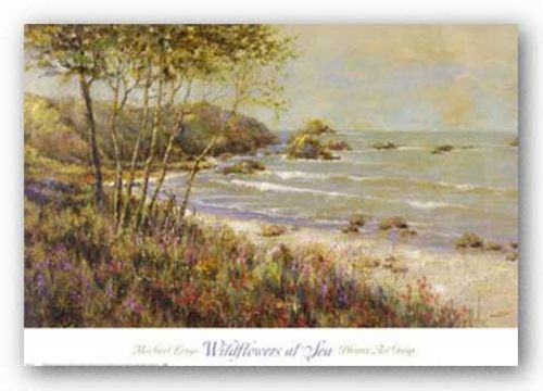 Wildflowers at the Sea by Michael Longo