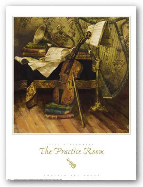 The Practice Room by Jill O'Flannery